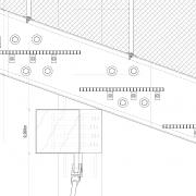 Detailpunkt Längsschnitt Anschluss Stahlträger an Holz |M 1:5
