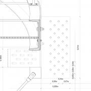 Detailpunkt Querschnitt Anschluss Stahlträger an Holz |M 1:5