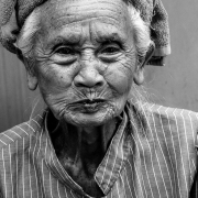 indonesia | old lady chewing betelnut