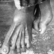 indonesia | feet of an old lady