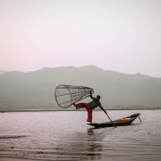 myanmar | inle lake fisherman