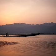 myanmar | inle lake sunrise