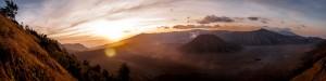 Sonnenaufgang Vulkanlandschaft